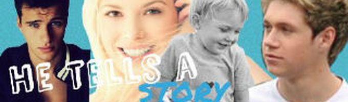 He Tells A Story